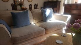 Sofa with footstool sofabed
