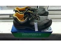 Steal toe cap boots size 11