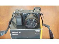 Sony Alpha A6300 24.3MP 4K Video DSLR Camera w/16-50mm F3.5-5.6 OSS Kit Lens