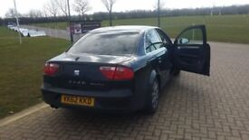 Pco seat exeo black with black leaters