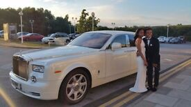 last minute wedding car | Wedding car | Rolls Royce Phantom Hire | Rolls-Royce Hire | Prom Hire