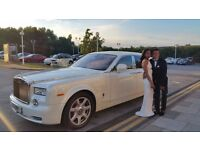 last minute wedding car | Wedding car | Rolls Royce Phantom Hire | Rolls-Royce Hire