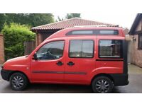 Very rare 1.9jtd High Roof Fiat Doblo newly converted low mileage campervan
