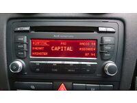 Audi Symphony radio 6 cd changer / cd player a3 s3