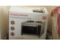 Morphy Richards rotisserie ss Convection Mini Oven - Silver
