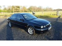 Jaguar x type 2.0 manual 2002 factory black privacy glass leather air e/sunroof windows mirrors etc
