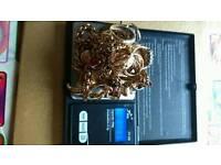 9ct gold 210 grams