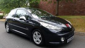 2009 Peugeot 207 Verve 1.4 Petrol 3Door Hatchback