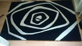 Optcal Art ( 100% Espirelle acrylic rug.