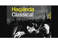 2 x Hacienda Classical Tickets @ Manchester Sat 25th Nov