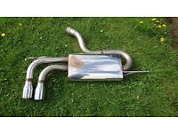 Milltek MSAU285 Stainless Steel Exhaust Rear Silencer Audi A3/Golf 2.0/Seat Leon