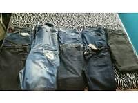 10 × ladies jeans