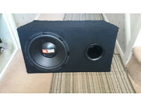"12"" JBL Subwoofer & Ported Box Full Working Order £50 OVNO NO AMPLIFIER"