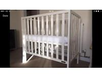 Mamas & Papas first size cot