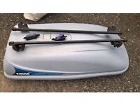 Thule Ocean 200 Roof Box with bars