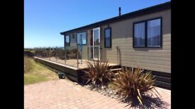 3 bed willerby Boston lodge sea views, sites on Hafan y Mor Pwllheli