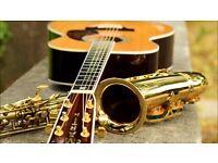 Saxophone/Guitar Tuition Edinburgh - £20 half hour / £25 per hour
