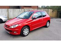 54 Peugeot 206, 1.4, petrol, 3 door // clutch done recetly, 2 new tyres, Blaupunkt stereo