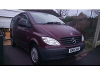 Mercedes-Benz Vito compact 4seater 109cdi 10month test