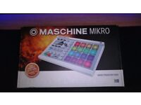 Maschine Mikro MK2 White - With DeckSaver Cover