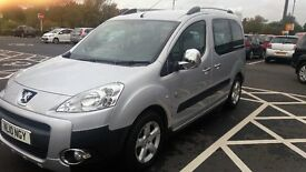 2010 peugeot partner tepee 1.6hdi outdoor fsh very low miles top of the range £5000