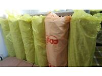5 Rolls Of Carpet Underlay ( New ) £20 Each Roll