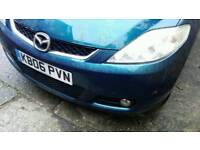 Mazda 5 breaking