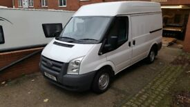 Ford Transit 2011 SWB Semi high roof