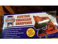 Chainsaw sharpener electric brand new