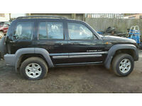 Jeep cherokee 2.5diesel 2003 reg breaking for parts