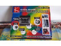 colour domestic cctv system