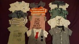 Large bundle baby boys clothes 0-3 months