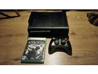 Xbox 360 120gb and game