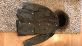 New look coat 10-11 years 915. Excellent condition