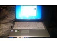 Toshiba Equium laptop in full working order