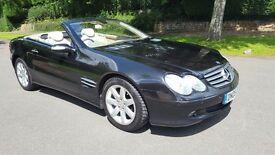 Mercedes-Benz SL Class 3.7 SL350 2dr Black 2005 Sat Nav Xenons