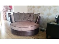 For Sale - Sofa, Chair & Snuggle Seat unusual London detail