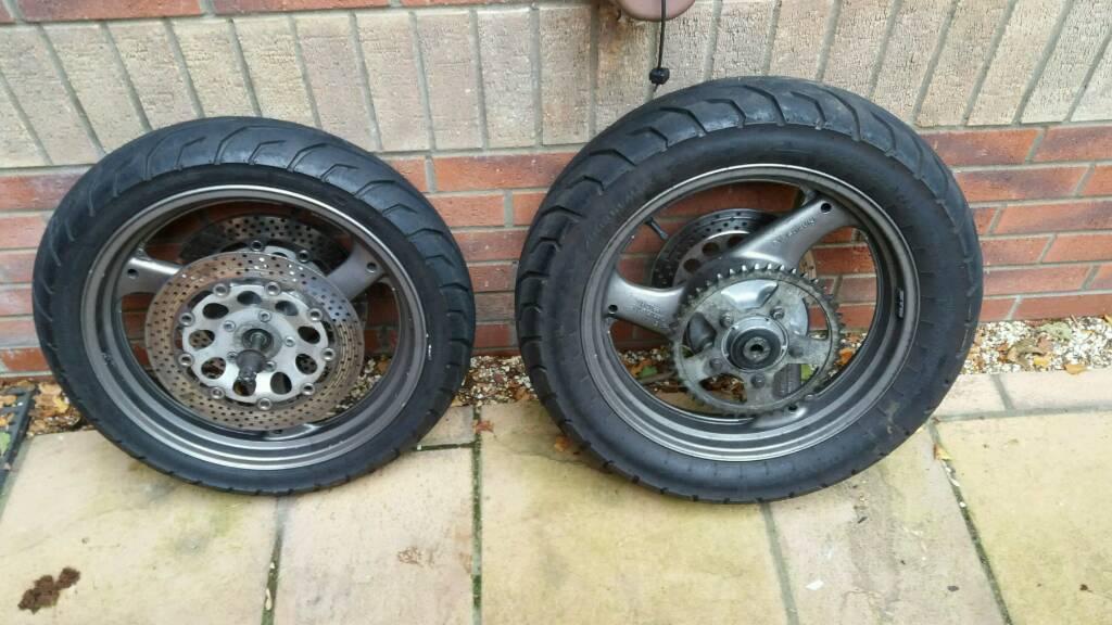 Suzuki gsx600f wheels