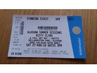 One Biffy Clyro ticket