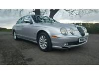 2004 Automatic Jaguar S Type 2.5 v6 silver with black leather PX considered