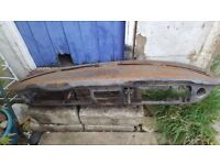 Vw camper type 2 right hand drive 1971 dash very hard to find needs bit of work