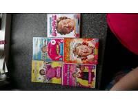 Mrs Brown Boys season 1 2 3 and the move and a box set of Mrs Brown Christmas collection