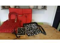 Womens handbags x 4