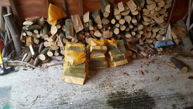 Bags of Logs For Sale - Perfect For Burning In The Winter
