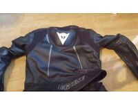 DAINESE MOTORBIKE LEATHERS - A YEAR OLD - TOP OF THE RANGE