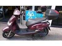 Yamaha teos 125cc scooter