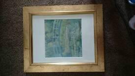 Paint frame