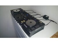 Denon CDJs and Matching Mixer (2 x DN-S100 & DN-X100)
