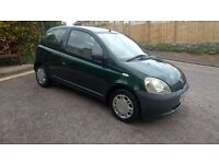 TOYOTA YARIS, 1.0 , 68K MILES, NEW MOT, VERY CHEAP INSURANCE