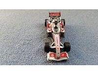 Formula 1 Car,Pull Car Back to Move,Push Head for Sound,Batteries included,Contact me asap, Cheap £1
